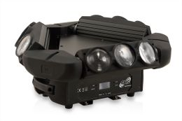 ETEC LED Kaos Tripple Spyder Moving Head 9x12W CREE 4in1